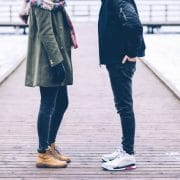 upset couple